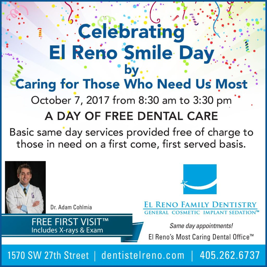 celebrating El Reno Smile Day
