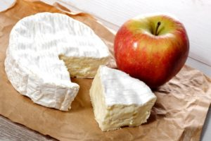 apple & cheese dish prepared for National Nutrition Month